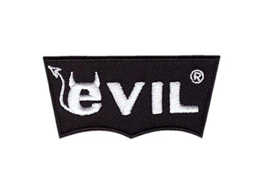 Titan One Europe - Evil Horns Punk Tattoo Biker Patch Parche...