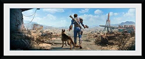 fallout bilder GB Eye Fallout, Sohle Survivor Stecker gerahmtes Poster, Mehrfarbig, 30x 75cm