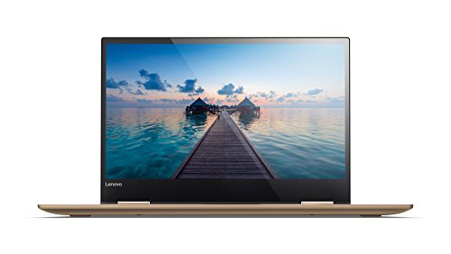 Lenovo Yoga 720 33,8 cm (13,3 Zoll Ultra HD IPS Touch) Slim Convertible Notebook (Intel Core i7-7500U, 16 GB RAM, 512 GB SSD, Intel HD Grafik 620, Windows 10 Home) kupfer