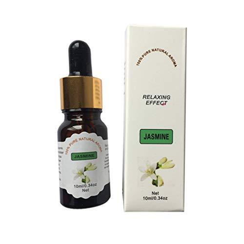 Kongqiabona Aromatherapie 10 ML zarte natürliche pflanzliche Formel reine ätherische Öle für Aromatherapie Diffusoren Körpermassage entspannen Duftöl