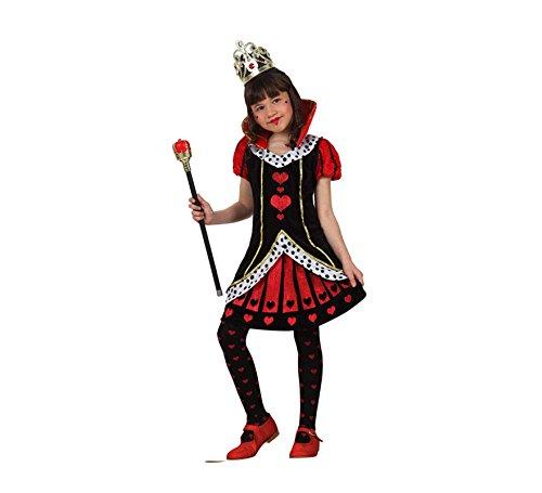 Atosa Disfraz de Dama de Corazones para niñas