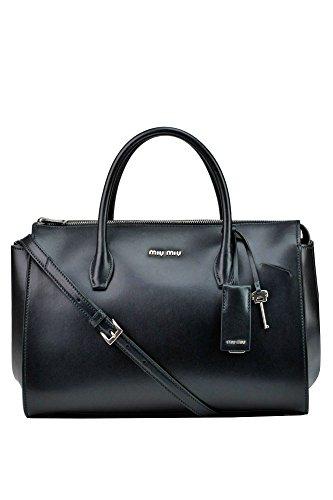 Miu-Miu-Womens-MCGLBRE03037E-Black-Leather-Handbag