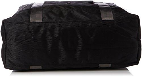 Gola Unisex-Erwachsene Windsor Henkeltaschen, 43x31x14 cm Schwarz (Black/Steel Grey)
