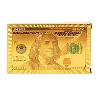 ورق لعب ذهبي لماع ( بلوت ، باصرة ، كوتشينة ) دولار امريكي