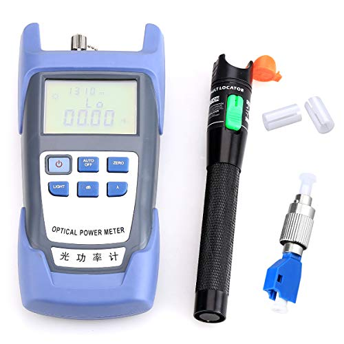 Optischer Leistungsmesser mit 30 mW, 30 km, Fehlersuchgerät, FC-LC Adapter