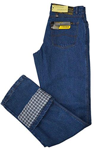 jeans-uomo-invernale-crown-301-foderato-imbottito-termico-blu-dalla-46-alla-62