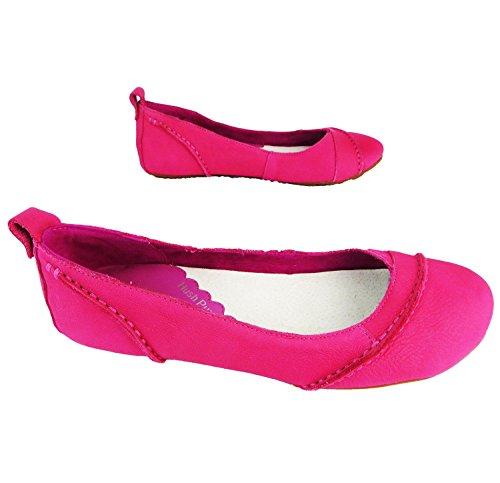 Hush Puppies Janessa - Ballerine donna Pink (Berry)