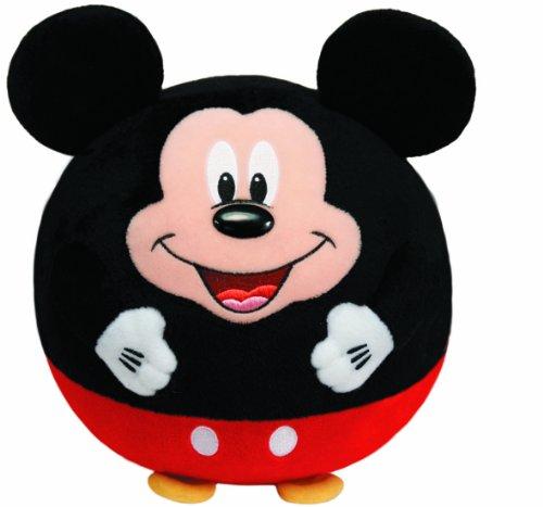 TY 7138050 - Disney Ball - Mickey, Durchmesser 12 cm, Beanie Ballz (Beanie Ty Mickey)