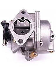 YAMASCO Carburador Montaje de carbohidratos 4 Tiempos Fit Tohatsu Nissan Mercury fueraborda MFS NSF 4HP HP