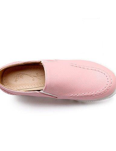 Eu37 Zq Pink Rosa Kleid Cn37 Plateau 7 Schwarz Beige 5 Rundeschuh Uk4 Wei us6 Damenschuhe Halbschuhe 5 Kunstleder 5 A06wxvrAq