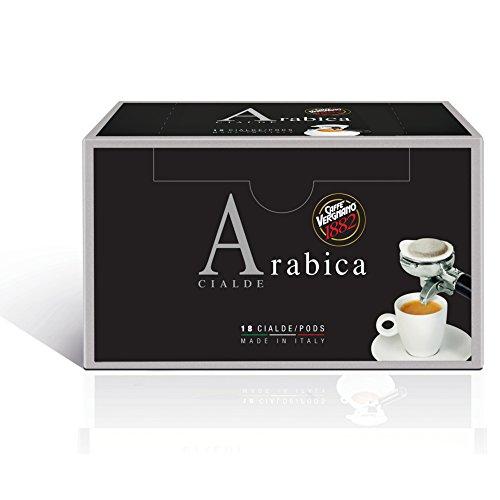 Caffè Vergnano 1882 Cialde Caffè Arabica - 6 confezioni da 18 cialde (totale 108)