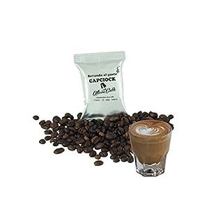 ODC Capsule compatibili con macchina da caffè sistema Lavazza Espresso Point kit formato da 50 cialde solubile Mocaccino…
