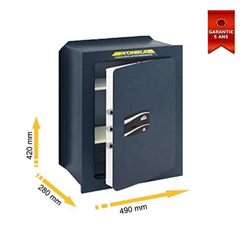 Stark Serie 206TK-200TK - Cassaforte da incasso, con serratura a chiave 490 x 420 x 280 mm