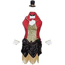 Emmas Wardrobe Disfraz de Circo Incluye Vestido Chaqueta Sombrero y Puños para la Muñeca Disfraz para