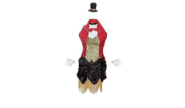 Ragazze Rosso//WITE PAURA leader Haloween Costume
