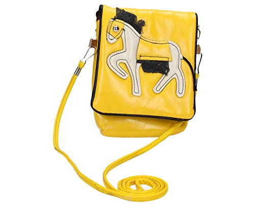 District29 - Borsa a tracolla donna Giallo (giallo)