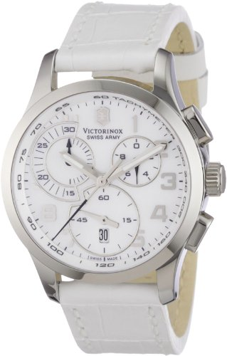 victorinox-swiss-army-241321-montre-femme-quartz-chronographe-bracelet-cuir-blanc