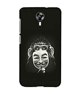 printtech Monkey Anonymous Mask Back Case Cover for Micromax Canvas Xpress 2 E313