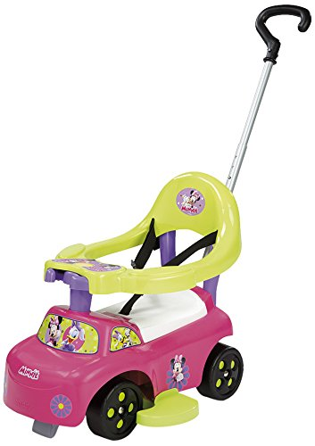 Smoby 445012 - Minnie Auto Balade 2-in-1 Rutscher