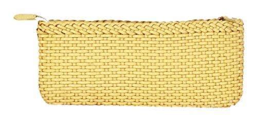 Insun - Borsetta senza manici donna giallo