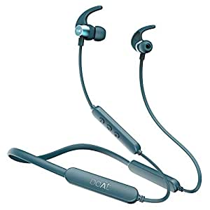 boAt Rockerz 255 Pro+ in-Ear Earphones with 40 Hours Battery, ASAP Charge, IPX7, Bluetooth Version 5.0, 10mm Drivers and Voice Assistant(Teal Green)