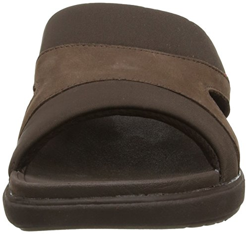 Fitflop Freeway Ii In Textile, Sandales Homme Marron (Chocolate)