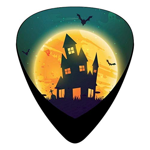 House On Halloween Celluloid Electric Guitar Picks 12-pack