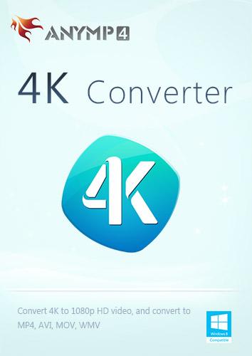 AnyMP4 4K Converter - 4K UHD Filme für die Wiedergabe auf 4K-Gerät konvertieren [Download] Flv Mov Converter