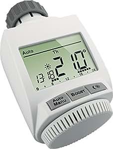 EQ3-AG BC-RT-TRX-CyG-4 - thermostats (White, M30 x 1.5 mm, LCD, LR6/Mignon/AA, 0 - 50 °C)