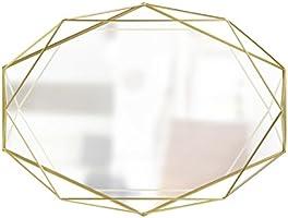 Umbra 358776-165 Prisma Miroir Transparent/Laiton 56,57 x 42,72 x 8,03 cm