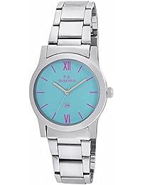 Maxima Analog Blue Dial Women's Watch-O-46662CMLI