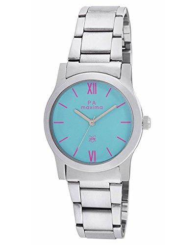 Maxima Analog Blue Dial Women's Watch - O-46662CMLI