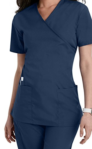 Womens Navy Uniform - Smart Uniform Women's 1224 Scrub Modern
