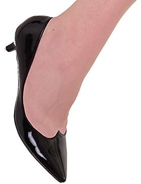 Banned, Ballerine donna nero nero One Size