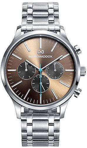Mark Maddox HM0102-17 Montre à Bracelet pour Homme