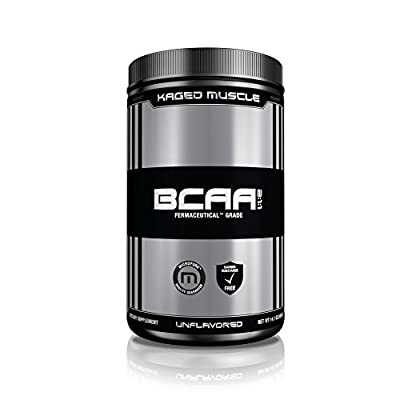 Kaged Muscle BCAA Powder, Unflavored, 400 Gram by Kaged Muscle