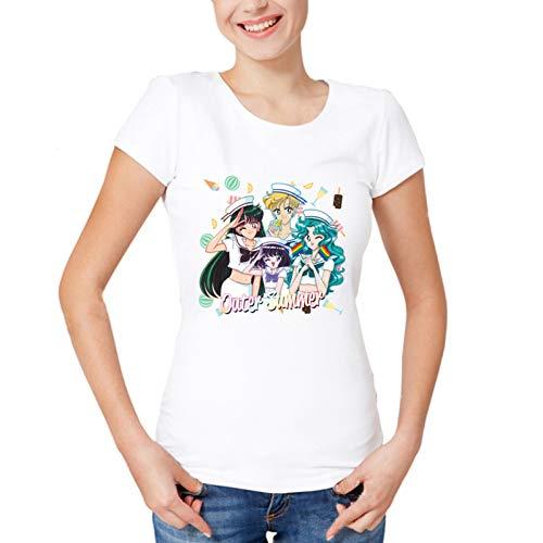 ZCYTIM Mode AnimeShirt Sommer Frau/Mädchen Cartoon Gedruckt Benutzerdefinierte T-Shirt Qualität -