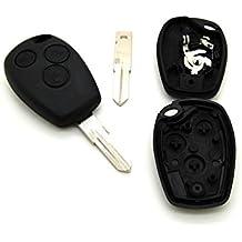 Carcasa para llave de mando a distancia de 3 Botones Vivaro Trafic Modus, con hoja