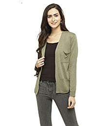 Stop by Shoppers Stop Womens Open Front Slub Jacket