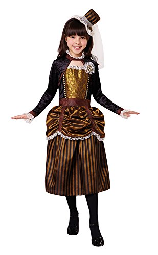 Bristol Novelty CF035Steampunk Girl (M), mittel (Saloon Girl Kostüm Amazon)