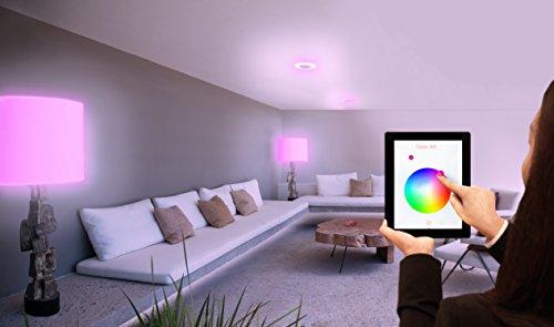 OSRAM LIGHTIFY Classic A LED-Glühlampe, 10 Watt, E27, matt, dimmbar / warmweiß bis tageslicht 2000K
