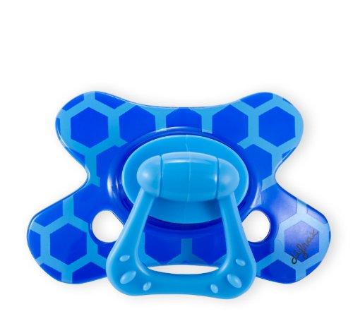Difrax 342 - Schnuller Dental 18+ Monate mit Ring, für Jungen (Dental-ring)