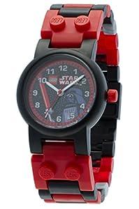 LEGO Star Wars Darth Vader 9002908 - Reloj de caballero de cuarzo, correa de plástico color varios colores