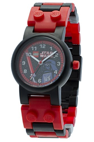 Reloj modificable infantil de Darth Vader de LEGO Star Wars con pulsera...