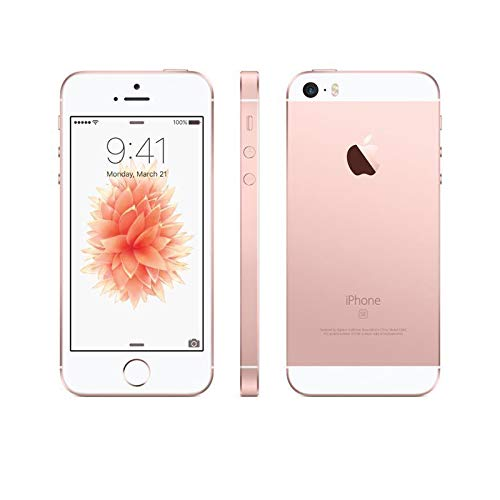 Apple iPhone SE 16GB Oro Rosa (Reacondicionado)
