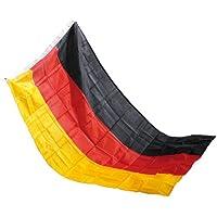 PEARL Deutschland Fahnen: Deutschlandfahne 150 x 90 cm aus reißfestem Polyester (Flagge)