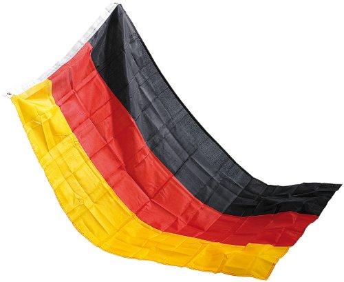 Unbekannt Pearl Deutschlandflagge: Deutschlandfahne 150 x 90 cm aus reißfestem Polyester (Länderflagge)