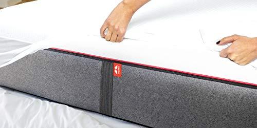 Morfeo - Protector de colchón - Impermeable Transpirable Bambú (150x190)