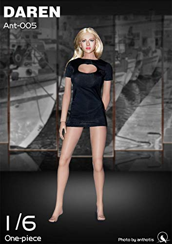 Action Weiblichen Kostüm - 1/6 weibliche Soldatpuppe Sexy Kleid Action Puppe Kostüm für HT Verycool TTL Play Phicen a