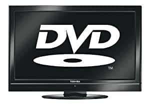 Toshiba 19DV500B 19-inch Widescreen HD Ready LCD TV and DVD Player Combi with Freeview